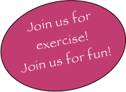 Join us for exercise!